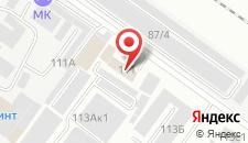 Отель МК на карте