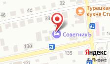 Гостевой дом На Рознина на карте