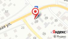 Гостевой дом На Луговой на карте