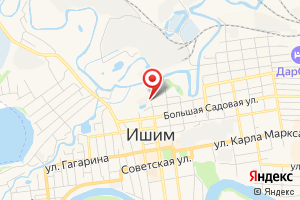 Адрес Газпром газораспределение Север, филиал в Тюменской области, Ишимский производственно-эксплуатационный участок на карте