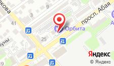 Бутик-Отель Орбита на карте