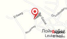 Апартаменты Haus Valesia на карте
