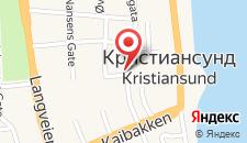 Отель Astoria Hotel Kristiansund на карте