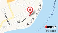 Отель Thon Hotel Storgata на карте