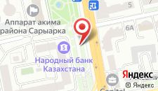 Апартаменты Симфония на карте
