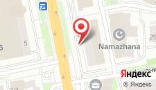 Апартаменты Riverside на карте