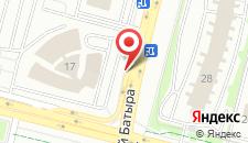 Отель Hilton Garden Inn Astana на карте