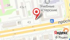 Отель Belon-Land на карте