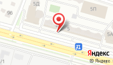 Апартаменты Лазурный на карте