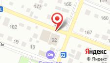 Спа-отель Астана на карте