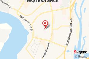Адрес Газпром энергосбыт Тюмень, Нефтеюганское МРО на карте