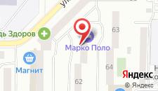Гостиница Марко Поло на карте