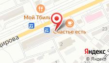 Апартаменты На Абдаирова 19 на карте