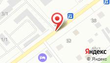 Гостиница Авангард на карте
