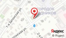 Гостиница Спутник на карте