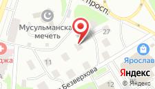 Гостиница Екатеринин Двор на карте