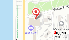 Гостиница Амакс Отель Омск на карте