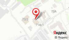 Гостиница Черный Лис на карте