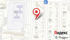 Отель Мишель на карте