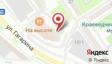 Гостиница Gala Hotel на карте
