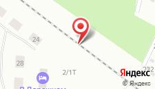 Отель В Дорожном на карте