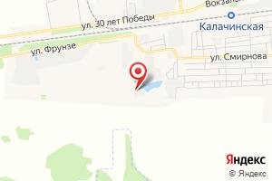 Адрес Электрическая подстанция Калачинская на карте