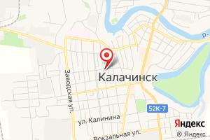 Адрес Газпром межрегионгаз Омск, Калачинский участок отдела по работе с социально значимой категорией потребителей на карте