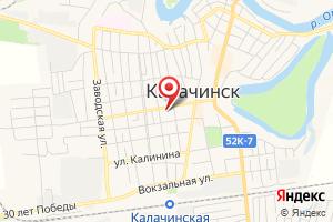 Адрес Омская энергосбытовая компания, восточное отделение, Калачинский участок на карте