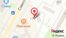 Гостиница Север+ на карте