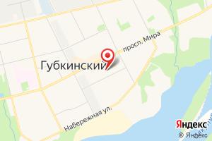 Адрес АО Газпром энергосбыт Тюмень, Губкинское городское отделение на карте