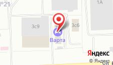Гостиница Варта на карте