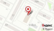 Гостиница Журавушка на карте