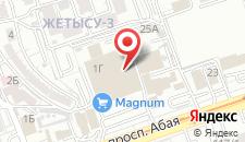 Апартаменты На Жетысу-3 на карте