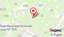 Апартаменты Park Family на карте