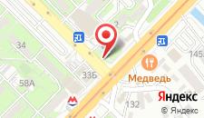 Апартаменты Сайран метро Москва на карте