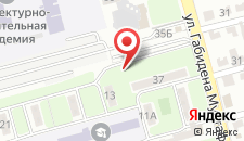 Апартаменты 2-комнатные на Щепкина 35 на карте
