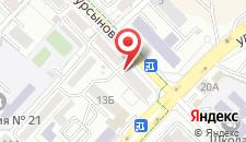 Апартаменты На Байтурсынова 161 на карте