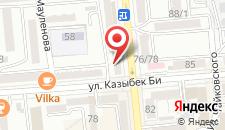 Апартаменты в Казибек Bi на карте
