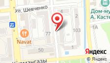 Апартаменты на Зенково на карте