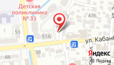 Апартаменты На улице Кармысова 46 на карте