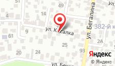 Гостевой дом На Садовой на карте
