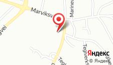 Апартаменты Roligheden Ferieleiligheter на карте