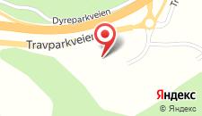 Курортный отель Scandic Sørlandet на карте