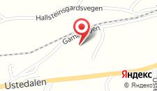 Отель Ustedalen Hotel Geilo на карте