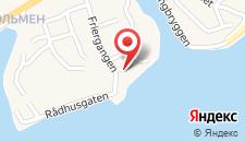 Отель Clarion Hotel Tyholmen на карте