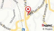 Апартаменты Lugano Terrazzo на карте