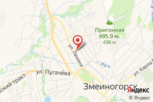 Адрес Водоканал г. Змеиногорска на карте