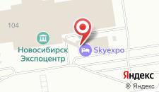 Гостиница SKYEXPO на карте