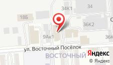 Гостиница Garden Apple на карте