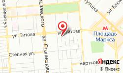 Расположение Новосибирские городские электрические сети, региональные электрические сети на карте